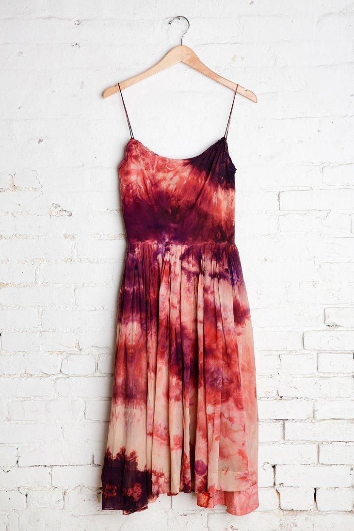 Vintage Dark Skies Sleeveless Dress