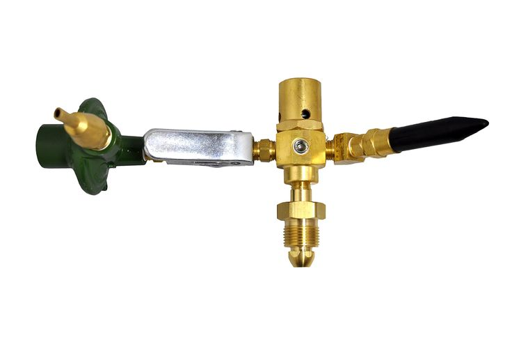 LATEX & MYLAR NEW E2802 Helium Gas Balloon Filler Inflator Regulator Brass Body - AUTO SHUT OFF VALVE. AT PRESENT WE DO NOT SHIP TO CALIFORNIA. Forged brass body, hand tight cylinder connection requires no wrench for installation;. Mylar fillers that shut off automatically when the balloon is full We also carry a full line of repair parts & accessories. Push down mylar fill nozzles that can be operated with one hand. Rubber tilt valve is easy to control the gas out and can be replaced.