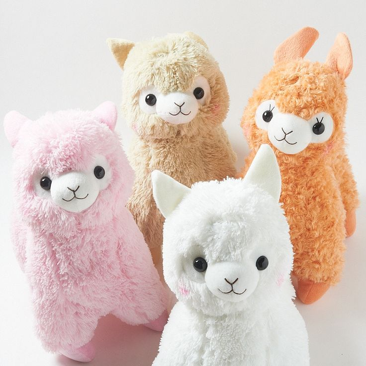 Natural Alpacasso Alpaca Plush Collection (Big)