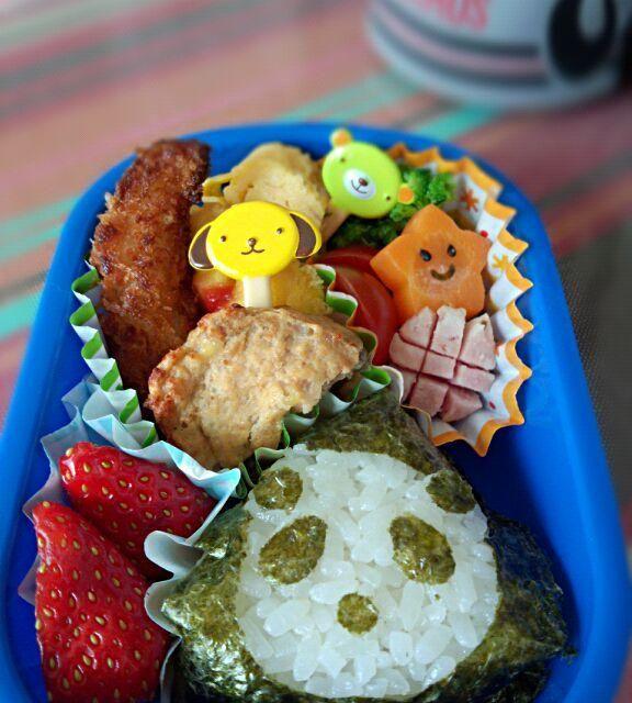 息子が4月に入園して初のお弁当♪ - 3件のもぐもぐ - 幼稚園お弁当(年少) by TSUKI