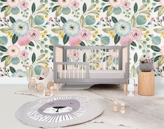 High Quality Peel And Stick Removable Self Adhesive Wallpaper Etsy Girl Room Peel And Stick Wallpaper Self Adhesive Wallpaper