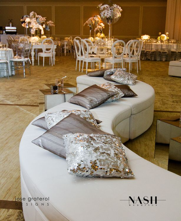 White Lounge Luxury Weddings Jose Graterol - - EVENT DESIGN - SPOTLIGHT ON JOSE GRATEROL, OWNER & DESIGNER FOR JOSE GRATEROL DESIGNS
