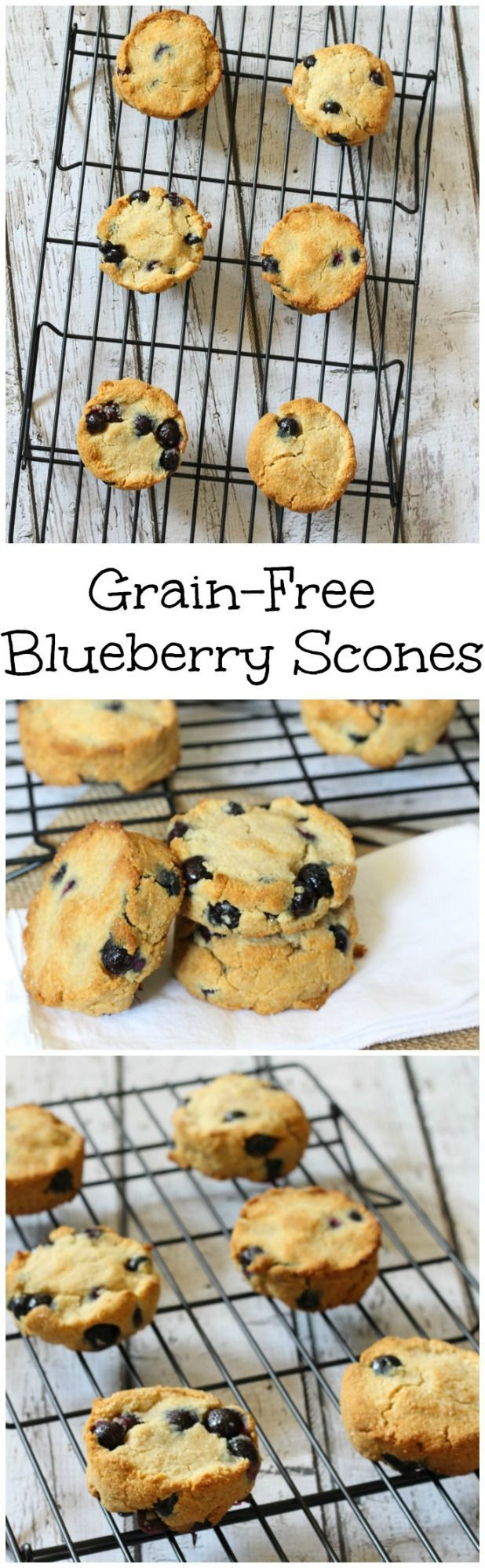 This grain free blueberry scones recipe (also paleo) is super easy to make and it will become your new go-to recipe!