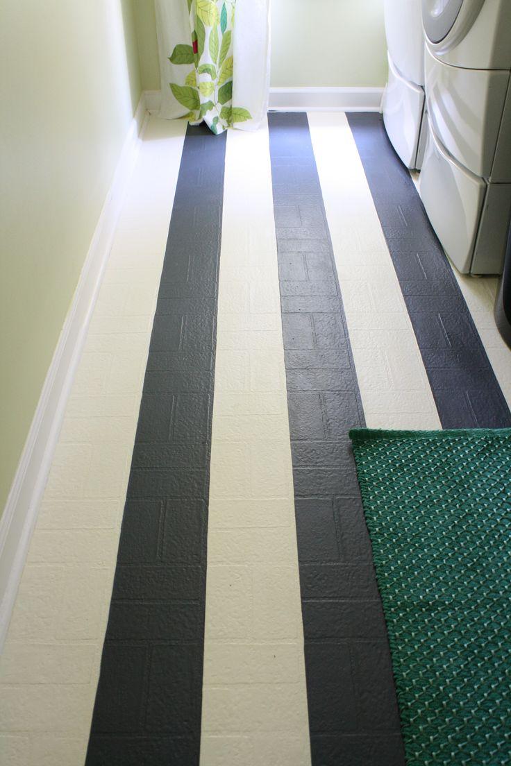 The 25 best painted vinyl floors ideas on pinterest cheap vinyl 7100 diy laundry room makeover painted vinyl floorspainting laminate floorsvinyl flooringflooring doublecrazyfo Choice Image