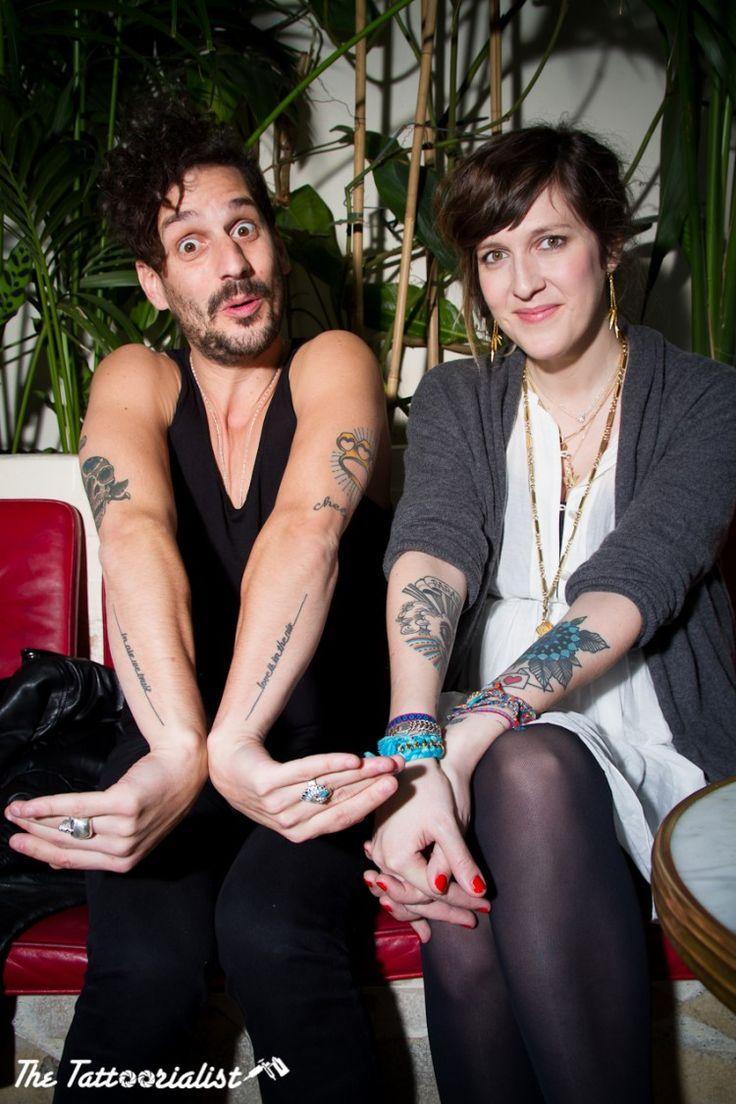 Gunther Love & Daphné Burki for Schweppes Zero ©thetattoorialist