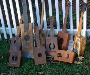 How to Make a Cigar Box Ukulele (via intructables)