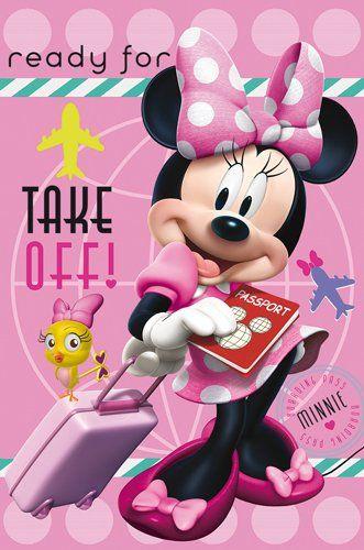 Disney Fleece Deken - Minnie Mouse (100x150cm)