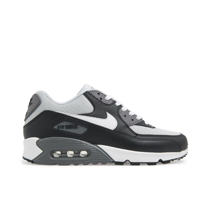 Men's Nike Air Max 90 - Platinum / White. Shop Nike Sneakers for Men, Women and Kids Online @ Platypus Shoes.