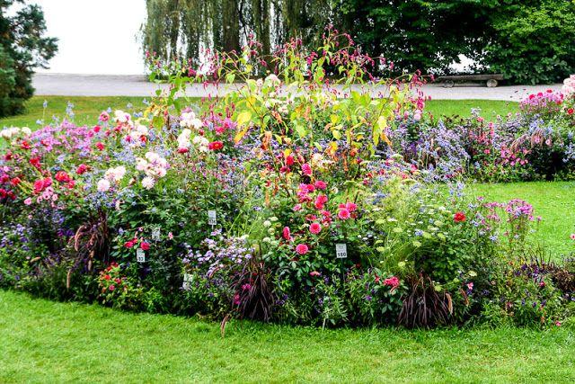 Blumeninsel Mainau, Insel im Bodensee, Blumen ...