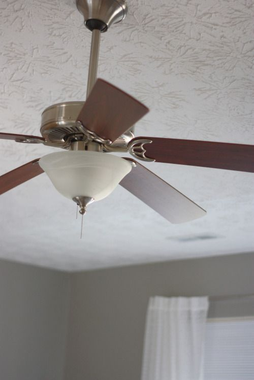 Master bedroom ceiling fan upgrade diy pinterest bedroom ceiling ceiling fan chandelier - Ceiling fans chandeliers attached ...