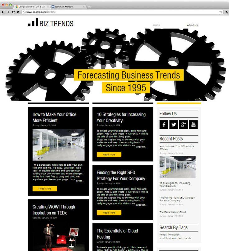 24 best Wix images on Pinterest   Plantilla de página web, Diseños ...