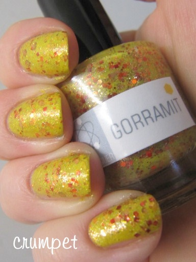 The Crumpet: Summer Challenge - Sunshine with NerdLacquer - Gorramit