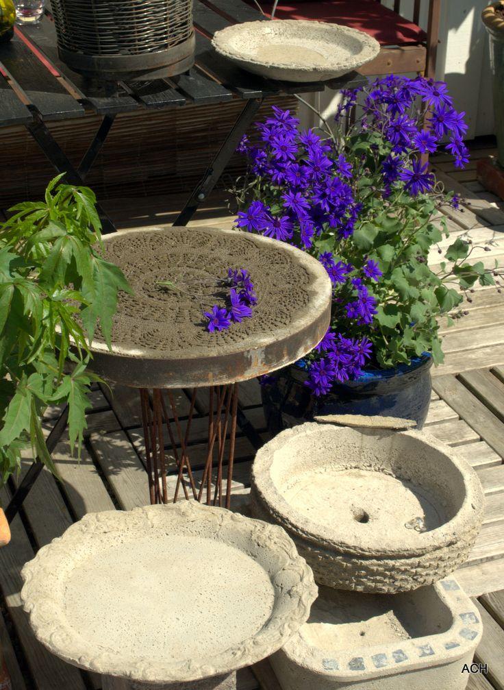 119 best images about concrete planters on pinterest - Concrete projects for the garden ...