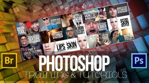 "Photoshop Training & Tutorials ""FREE"" - In this course you will find loads of Photoshop Tips & Tricks, Retouching Workflows & Endless Photoshop Techniques. - Free"