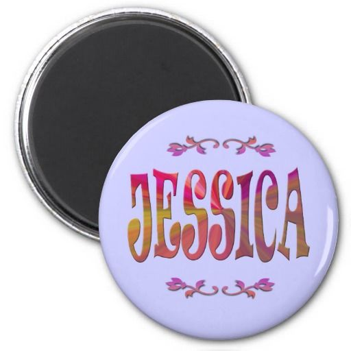 It looks like 2014 was the year for my name game products ~ someone named Jessica is going to receive this Magnet ~ TY to the Purchaser
