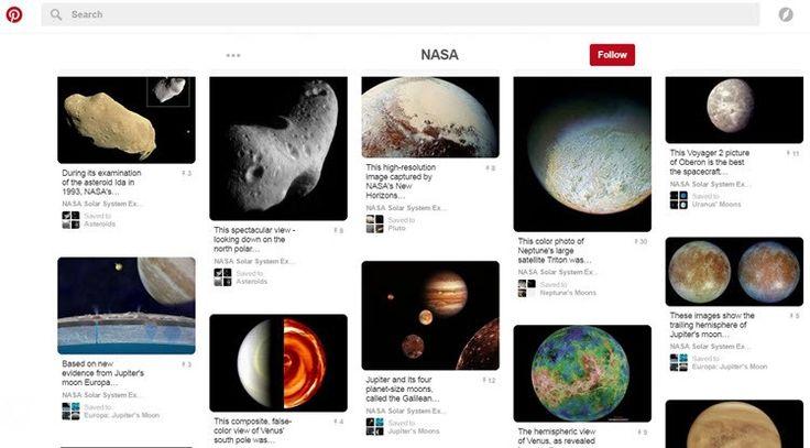 La NASA comparte más de 700 imágenes, gifs y videos