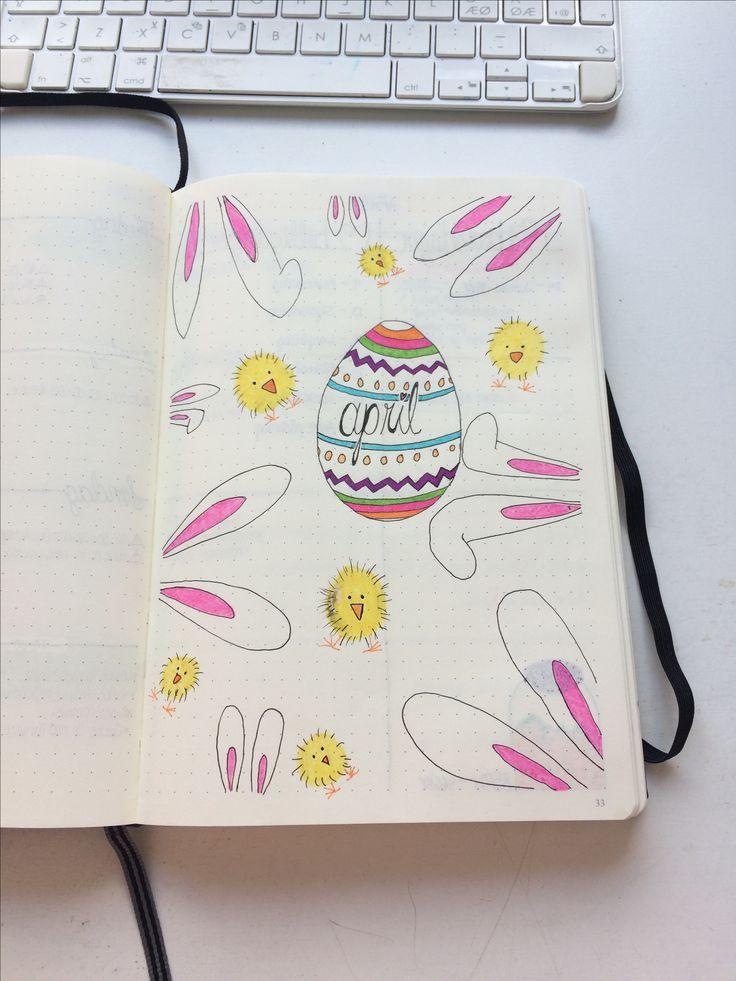 April, Bullet Journal