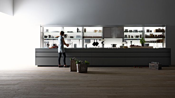 Artematica with New Logica System backsection #kitchens #interiordesign