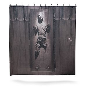 Han Han   Shower wholesale Solo in Shower Carbonite Curtains distributor Curtains Curtain shoe and Solo