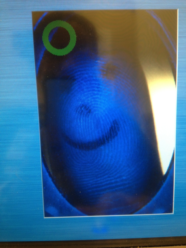 It's possible to make fun at work! Pyxis finger print! This machine actually recognized my print even with smiley face written in it. Yay!