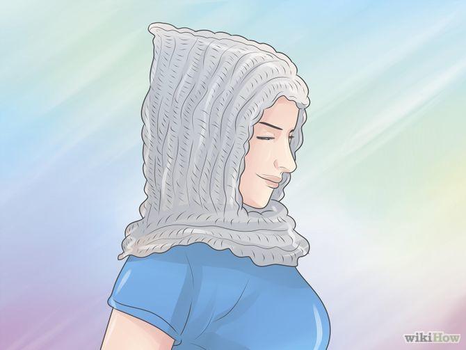 Capuche au crochet                                                                                                                                                     Plus