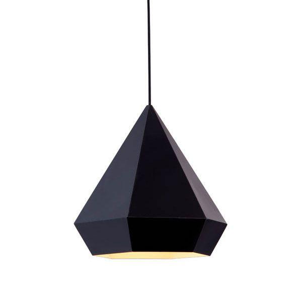 Finisterre Ceiling Lamp in Black | dotandbo.com