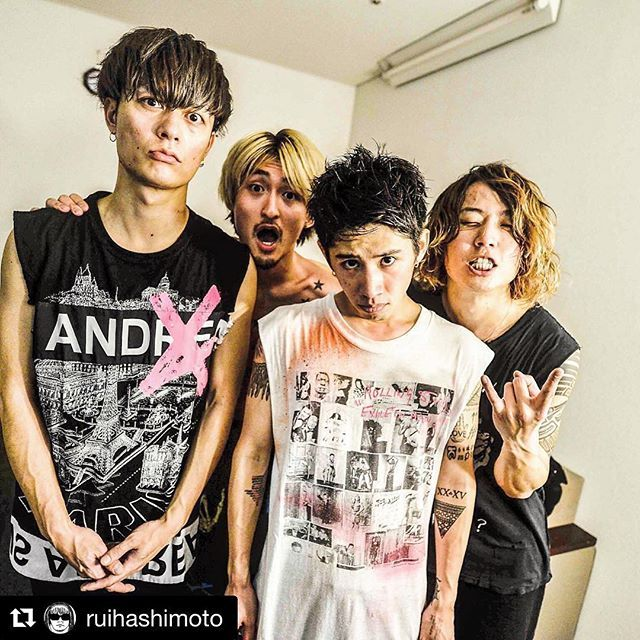 Toru, Ryota, Taka, Tomoya || One Ok Rock