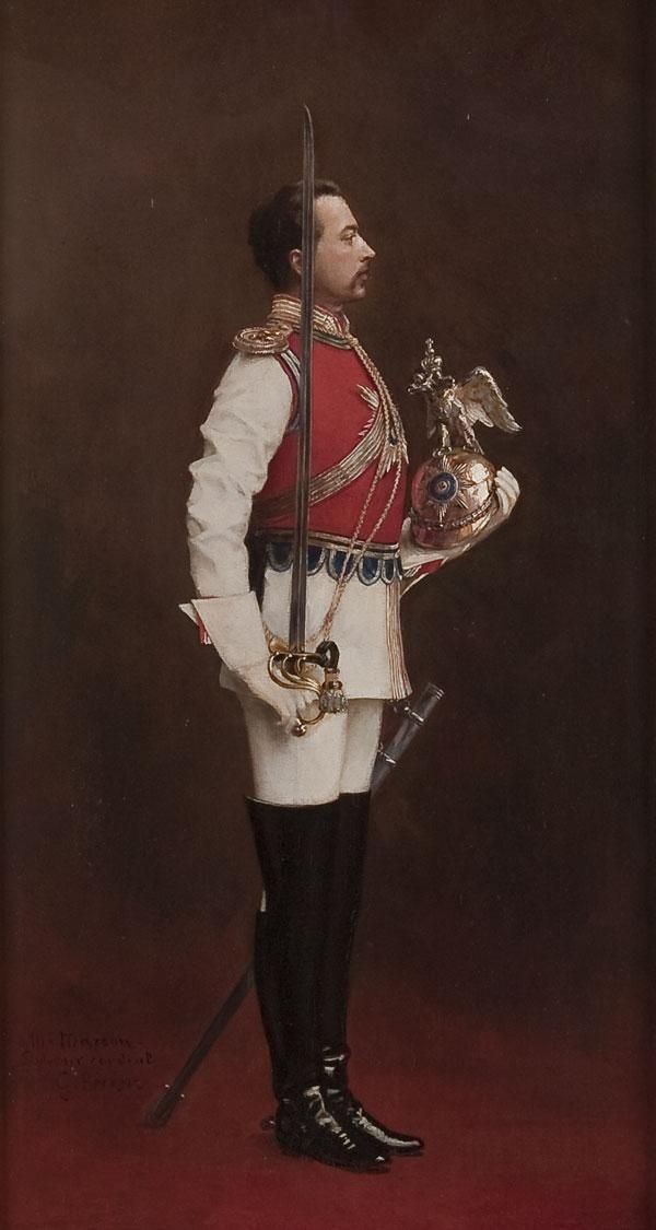 An Officer of the Russian Imperial Chevalier Guards.
