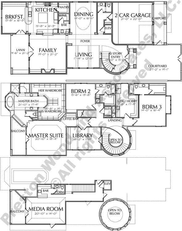 Three Story Urban House Plans Inner City House Plans Tnd Development Preston Wood Associates House Plans City House How To Plan