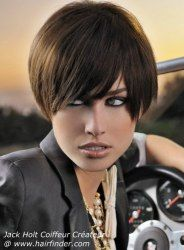 129 best short hairstyles images on pinterest short haircuts cute short hair with long bangs via hairfinder connect emsalon elisemarcussalon winobraniefo Image collections