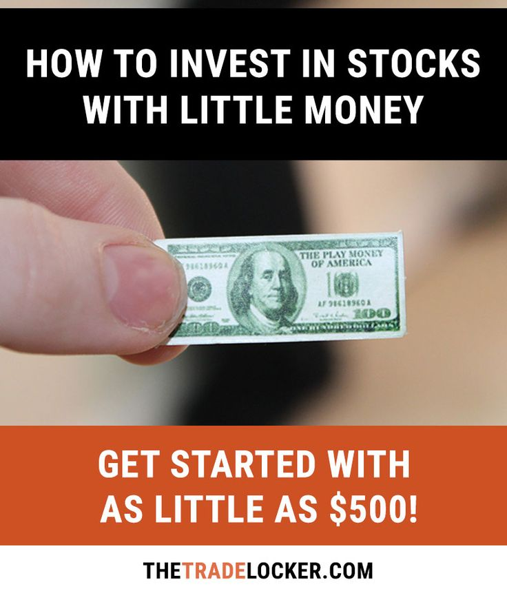 Investing in the stock market with little money IS possible - here's how to get started with as little as $500.