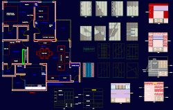 Interior design Extensive Cad files of drawing room, pray room, kitchen, guest bedroom, living room, home theatre| CadBull