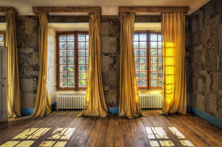 Yoyo Wallpaper Collection The Book Quot Empty Rooms In 2019 Yellow Curtains Curtains Living