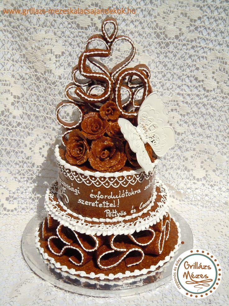 Grillázstorta házassági évfordulóra
