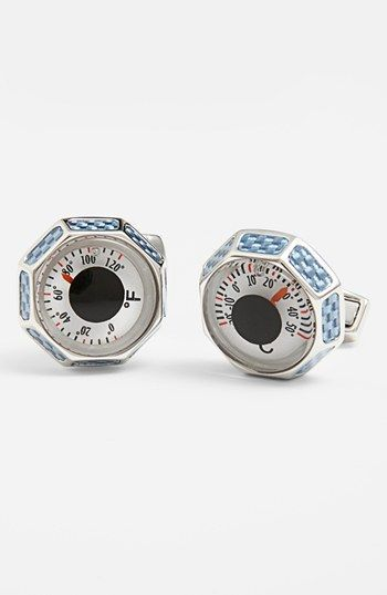 Thermometer Cuff Links