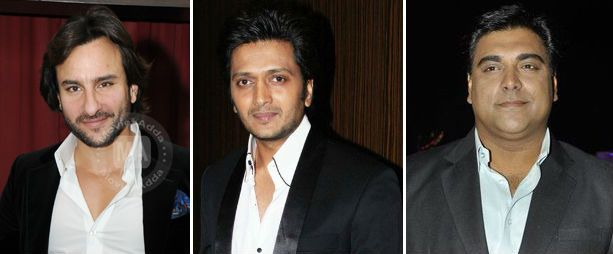 Saif, Riteish and Ram Kapoor to play triple roles in Sajid Khan's Humshakals