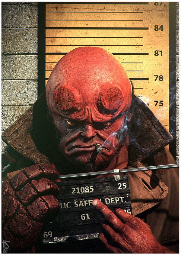 Hellboy by Tomas Kral