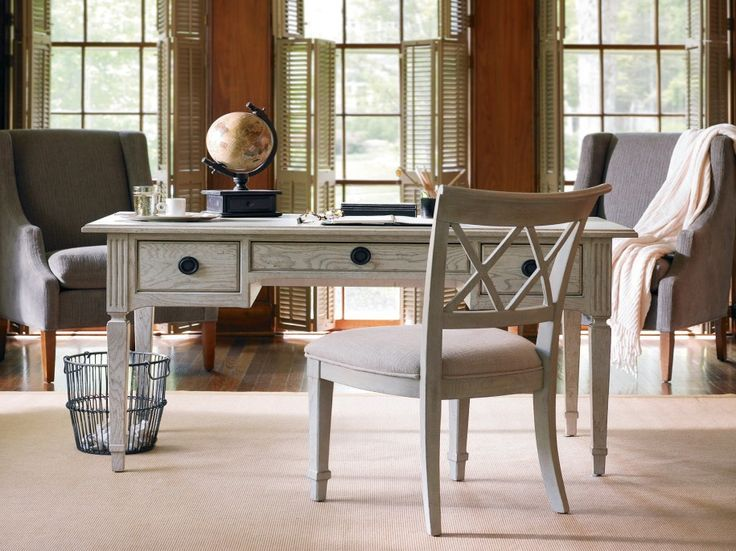 furniture chic vintage home office furniture designs with rectangular wooden desk ideas for small spaces chic vintage home office