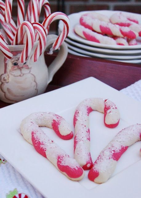 The Kitchen is My Playground: Candy Cane Cookies {Our 'Black Friday' Project}