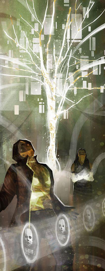 Art from Data Trails (Shadowrun 5 Matrix Core Book)