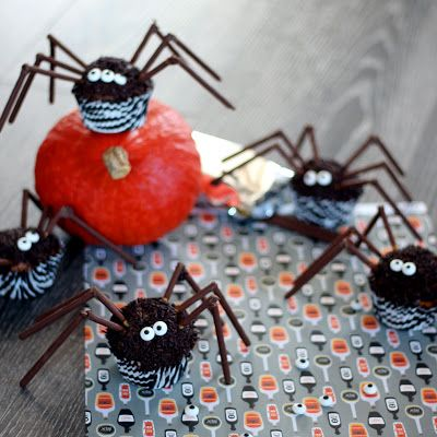 [Miam] Muffin araignée - spider muffin - Le miam de ninou @LeMiamdeNinou