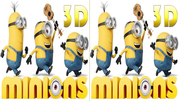 VR Video-Minions Exclusive 3d effect Virtual Reality- VR- RealD 3D & IMA...