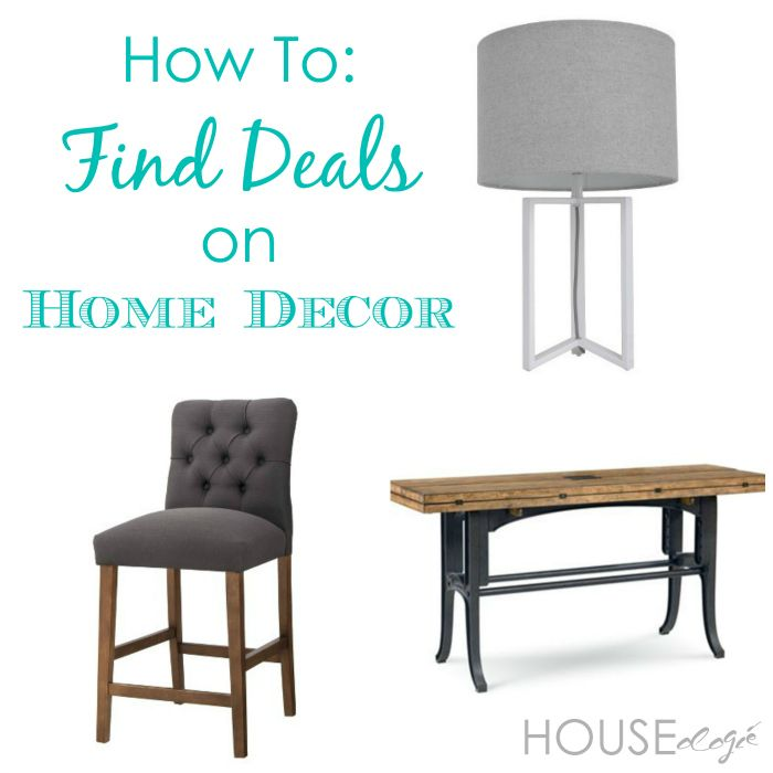 How To Find Deals on Home Decor Budgeting, Board and Craft
