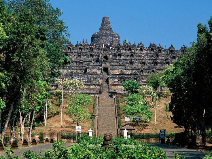 borobudur temple in Magelang Indonesia