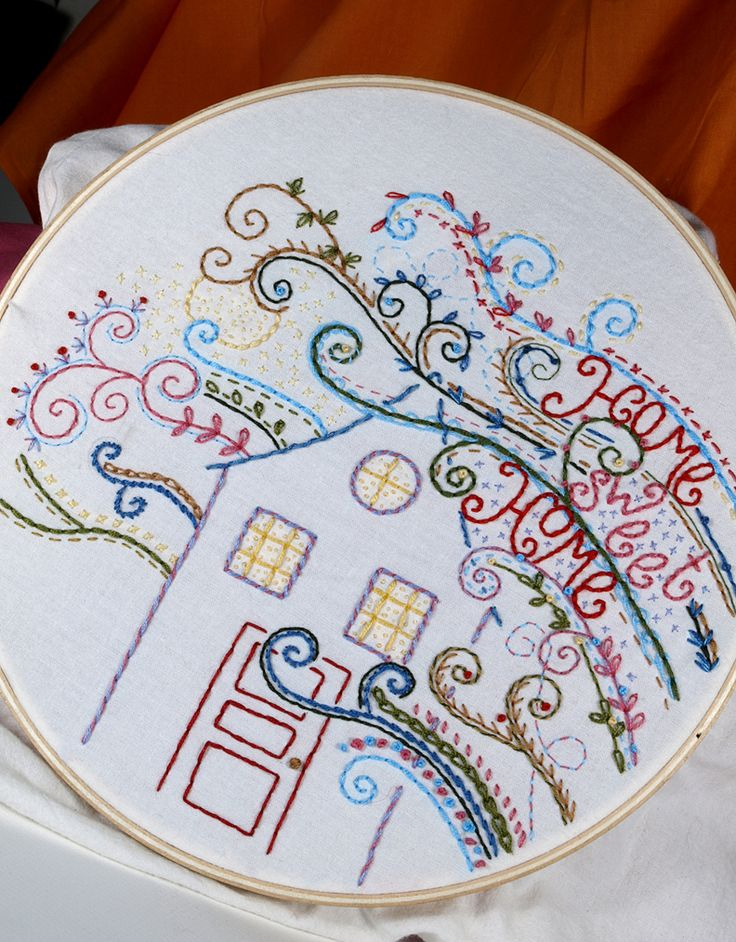 Free Embroidery Pattern of the Month and Challenge