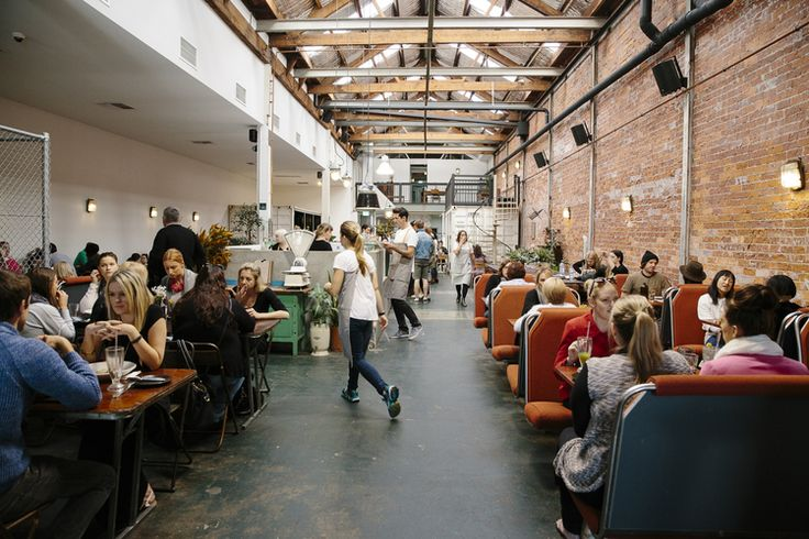 """""""Set in an original 1920s warehouse and centered around an ethos of healthy, sustainable living,The Raw Kitchen is a new type of venue bringing together a  plant-based restaurant, lifestyle store, yoga and studio space."""""""