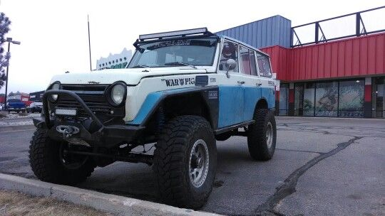 Red Line Fj-55 #sickride# wheelin