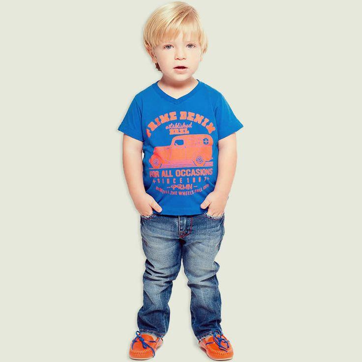Calça Jeans Infantil Masculina Lavagem Clara - Puramania :: 764 Kids | Roupa bebê e infantil