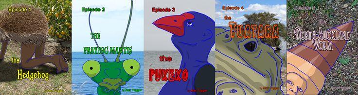 5 Episodes, more to come.
