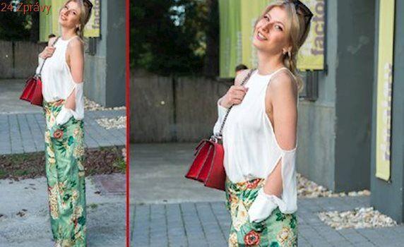 Styl podle celebrit: Oblečte trendy palazzo kalhoty jako slovenská modelka